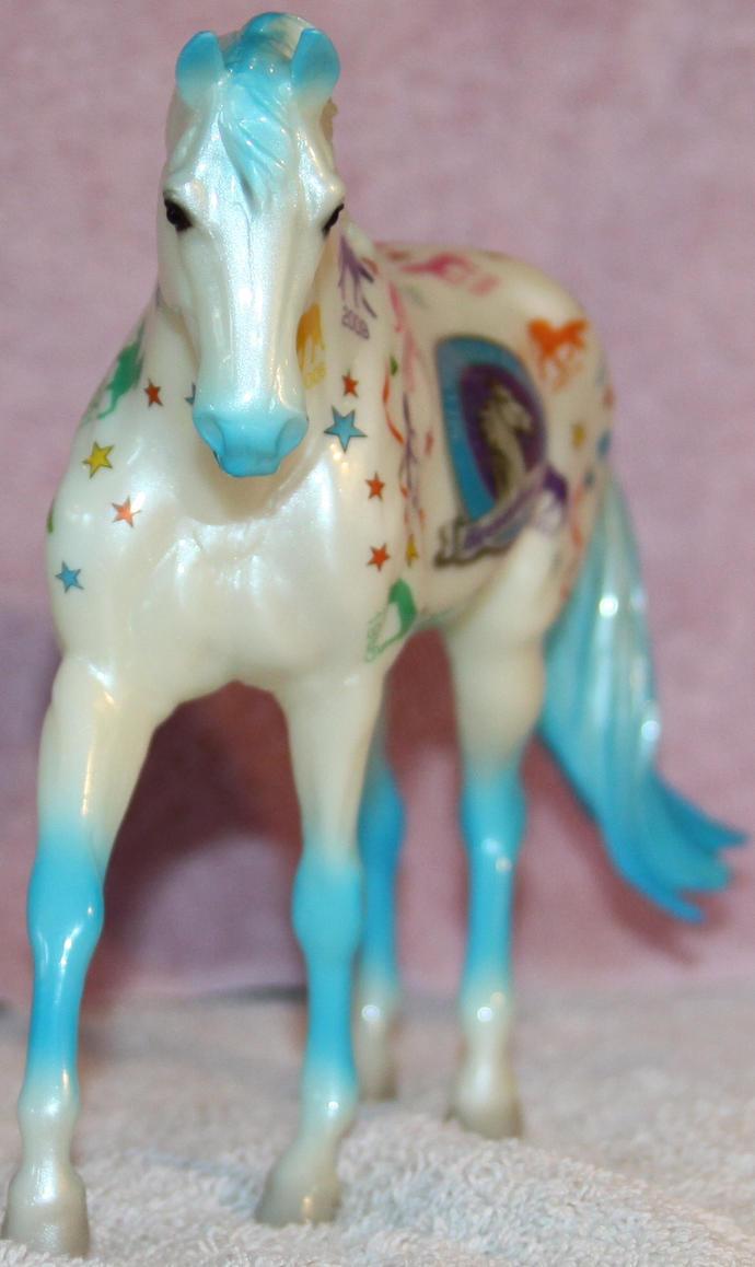 Breyer Let's Celebrate 3 of 3 Stock ~ Stock Horse by Lovely-DreamCatcher