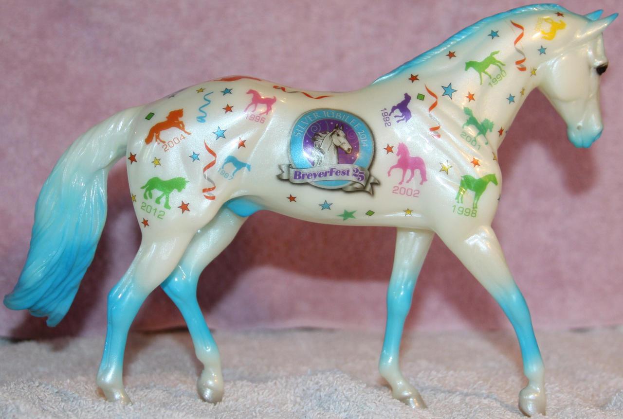 Breyer Let's Celebrate 2 of 3 Stock ~ Stock Horse by Lovely-DreamCatcher