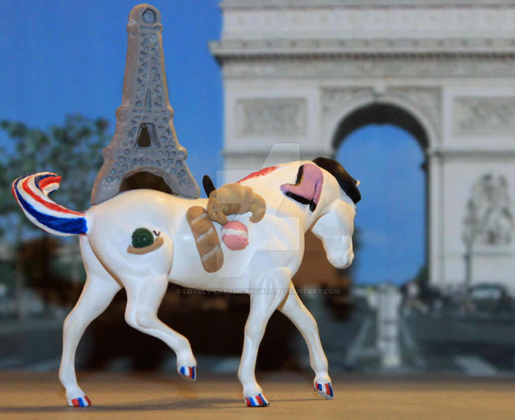 Breyer Vive la France HorseCrazy Painting Contest2 by Lovely-DreamCatcher
