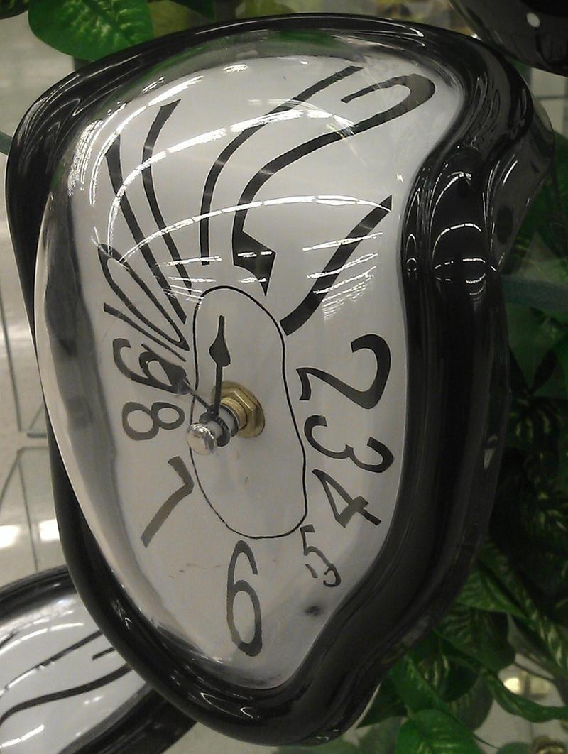 Melting Clock Stock 2 by Lovely-DreamCatcher