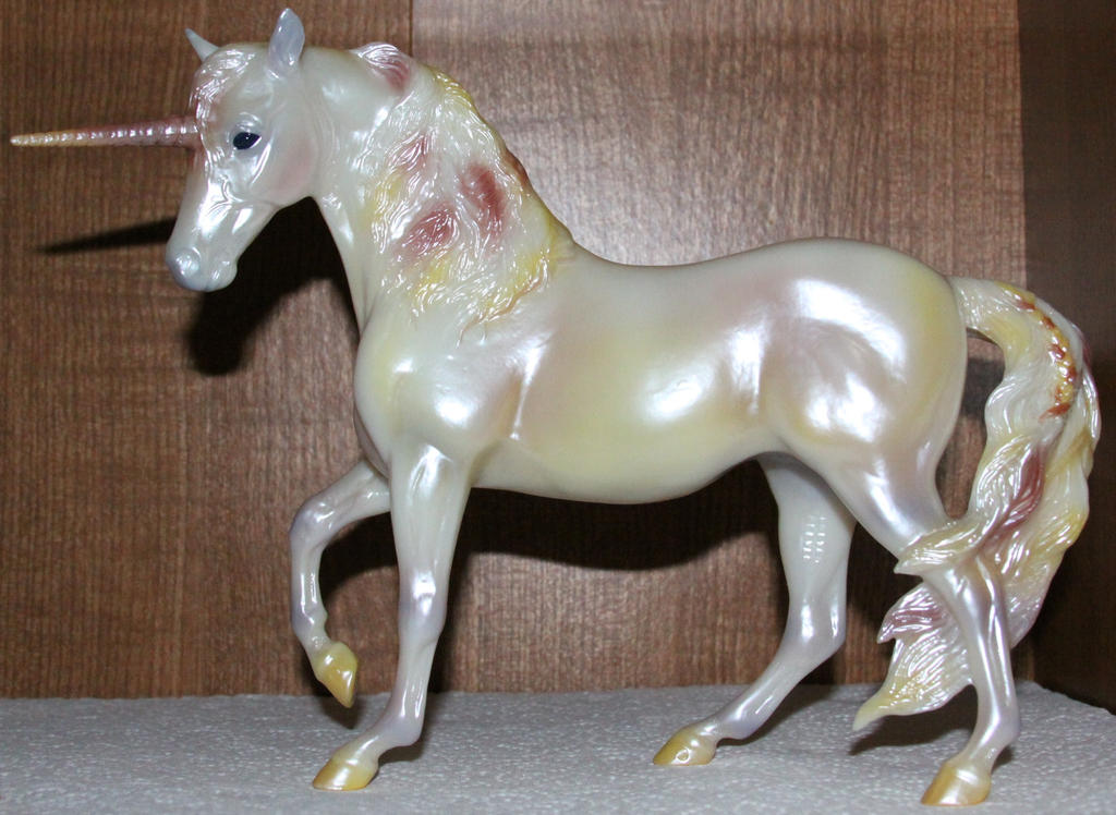 Breyer Alida Unicorn Stock by Lovely-DreamCatcher