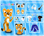 Flavy the Tiger - :Ref Sheet: