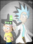 - Let's go, Morty! -