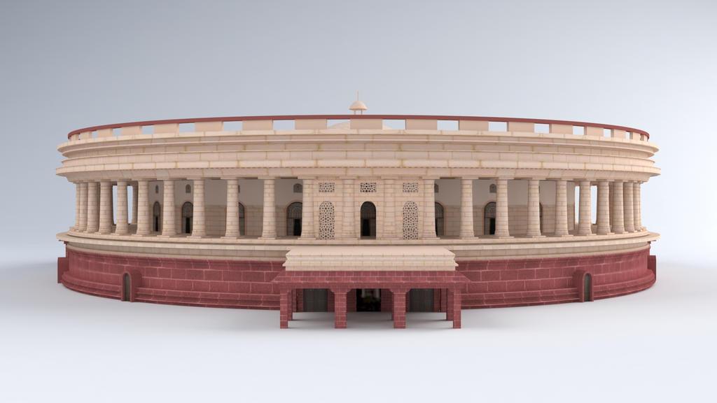 3d model of parliament house