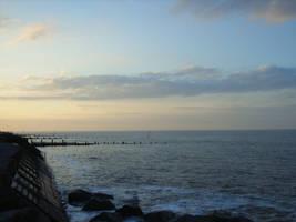 Sunset beach03 by arkayaStock