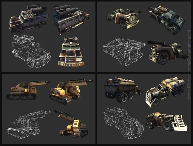 Desert Law vehicles