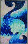 Mosaic about sea
