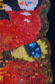 Mosaic about butterfly