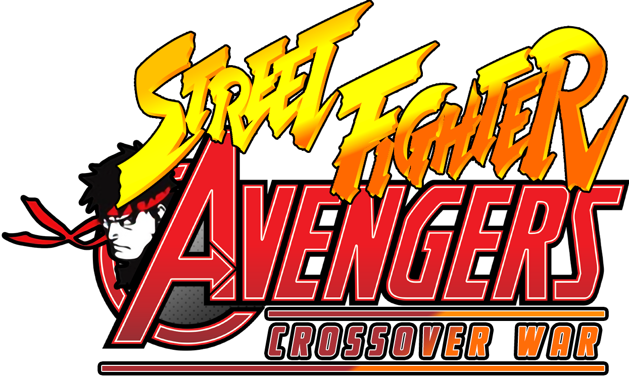 Logo Street Fighter Avengers Alternative By Mickrigal On