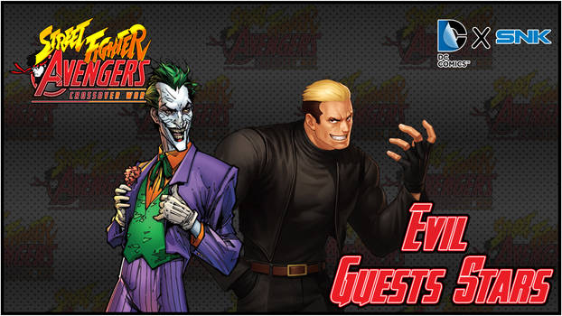 Street Fighter/Avengers - TeamUp Guests Stars DLC1