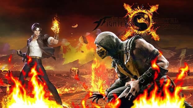 King of Fighters x Mortal Kombat - Fire Fighting
