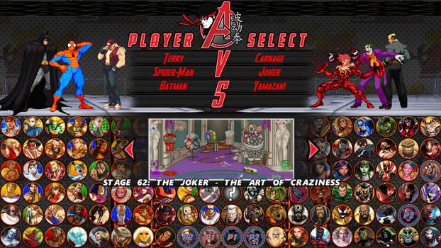 Street Fighter/Avengers - Vs. Team of Psychopaths