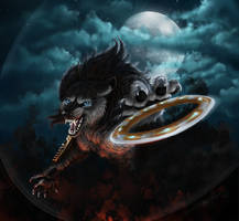 Xena Warrior Werewolf by TransparentGhost