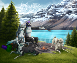 Summer Camping by TransparentGhost