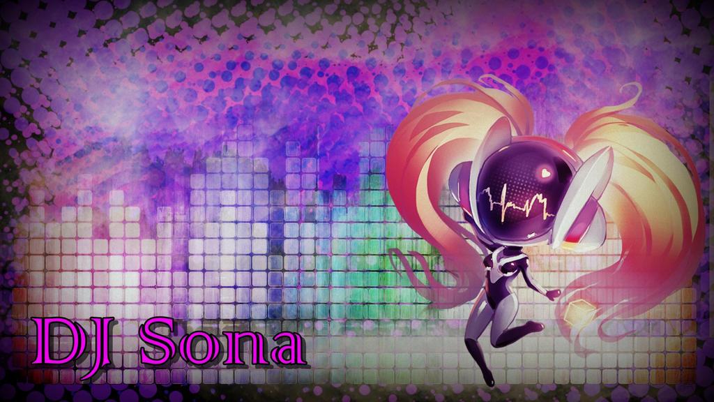 DJ Sona Chibi *wallpaper* by darkstriiker