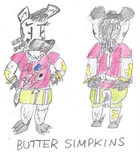 Butter Simpkins by astrolupine