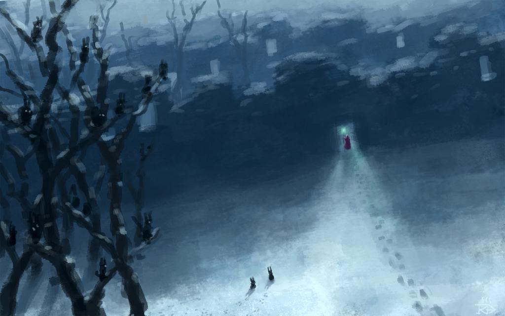 Nuclear Winter Speedpaint By Rgbfumes On Deviantart