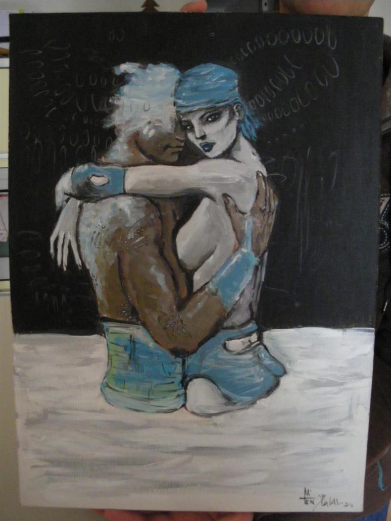 Hommage Bleu Sang by NitenNoYume