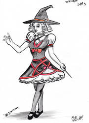 Lolita Witch by NitenNoYume