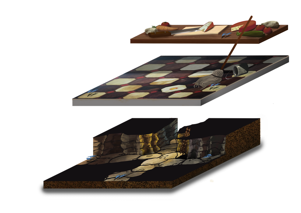 Isometric Mice and Mystics by NitenNoYume