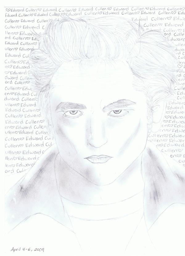 Edward Cullen By Mariejaneworks On Deviantart