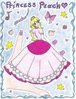 Princess Peach by MarieJaneWorks