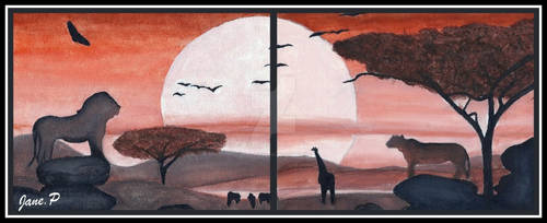 The Lion King-Scenary by MarieJaneWorks