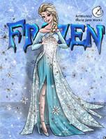 Kingdom Of ICEolation ~ Frozen by MarieJaneWorks