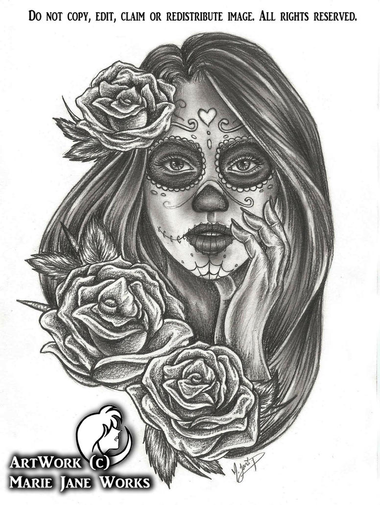 Chica Morte - Commission by MarieJaneWorks
