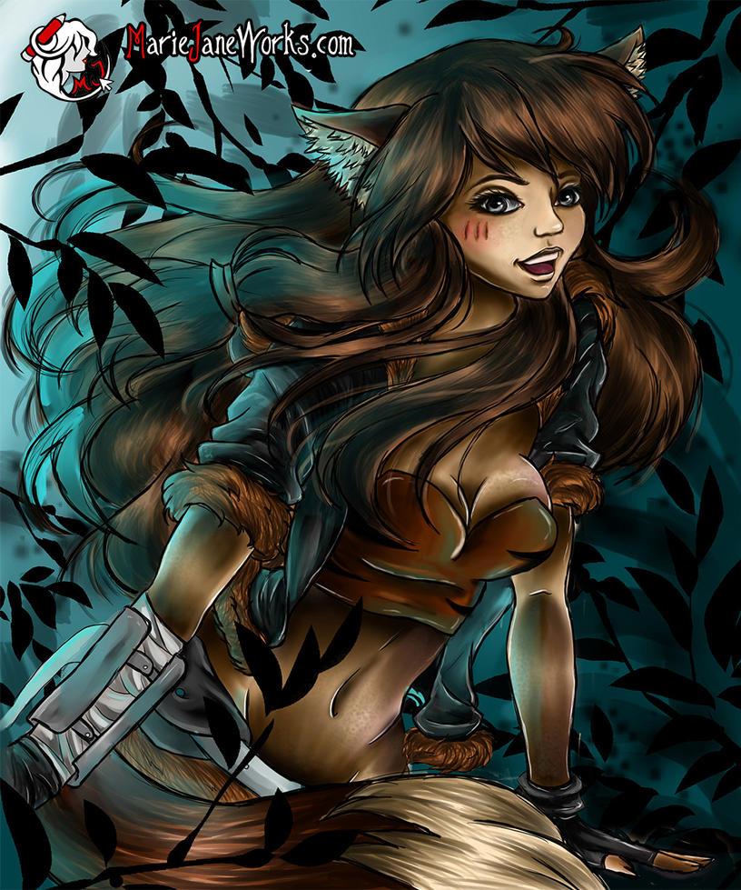 Skylar Fox ~ Convival by MarieJaneWorks