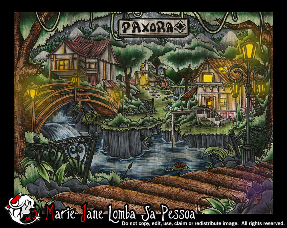 Paxora ~ Home of Skylar Fox by MarieJaneWorks