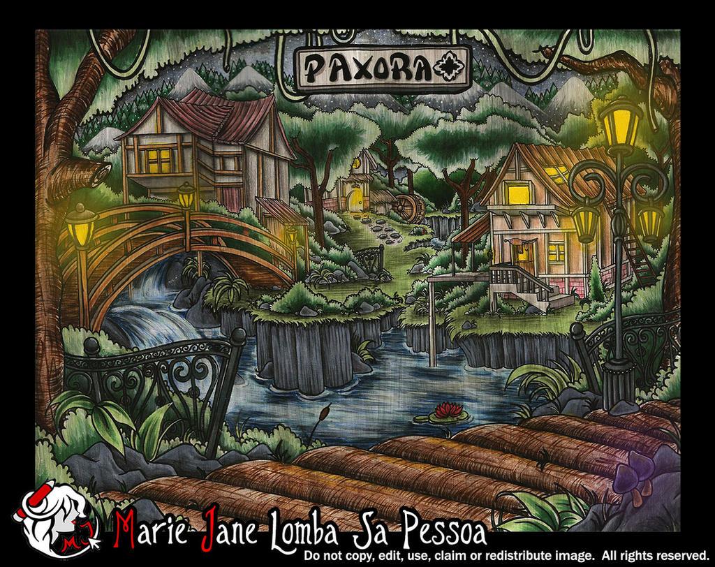 Paxora ~ Home of Skylar Fox by MarieJane67777