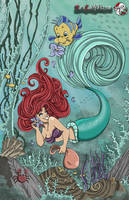 The Little Mermaid by MarieJaneWorks