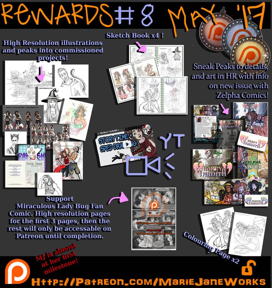 May Rewards 2017 by MarieJaneWorks