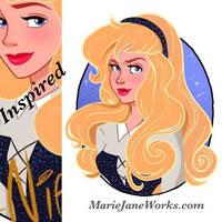 Aurora Repaint by MarieJaneWorks