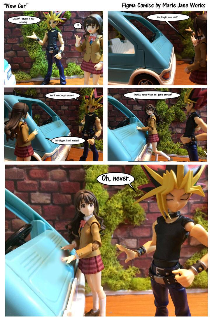 New Car ~ Figma Comics by MarieJaneWorks