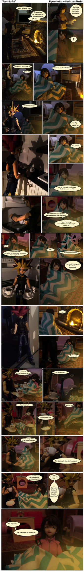 Power is Out ~ Figma Comics by MarieJaneWorks