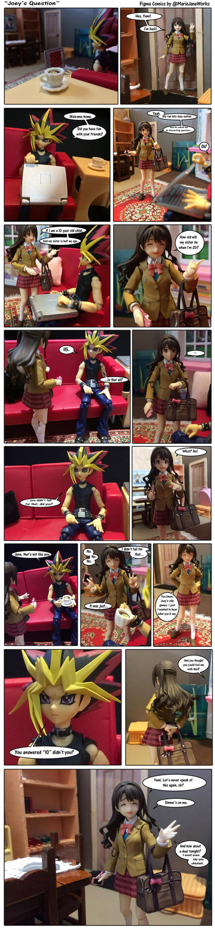 Joeys Question ~Figma Comics by MarieJaneWorks