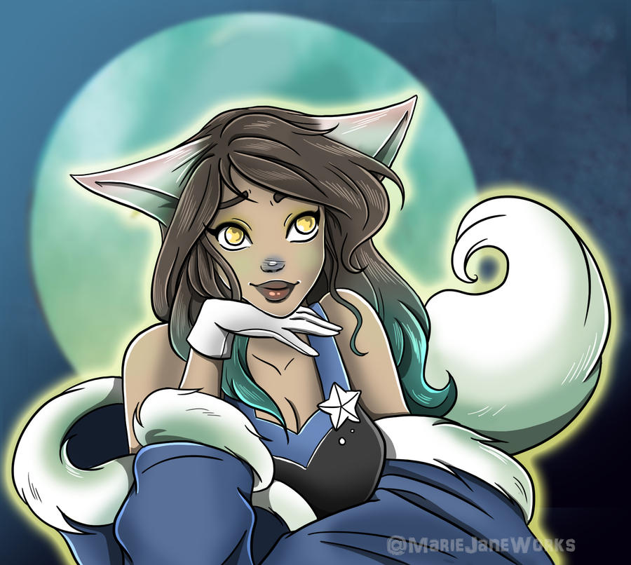 SIS: Silver Fang by MarieJaneWorks