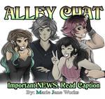 Alley Chat Hiatus