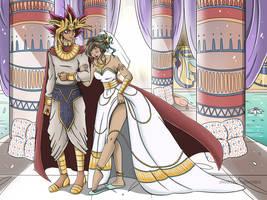 Pharoah's Bride by MarieJaneWorks