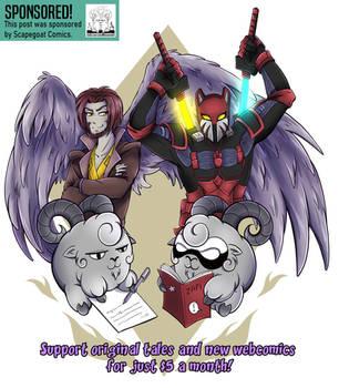 Scapegoat Comics ~ Commission by MarieJaneWorks