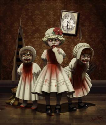 Vampire Children by Kate3078