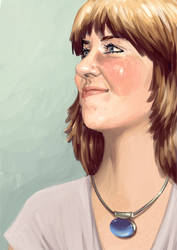 Self portrait by Kate3078