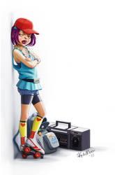 Roller Girl by Kate3078