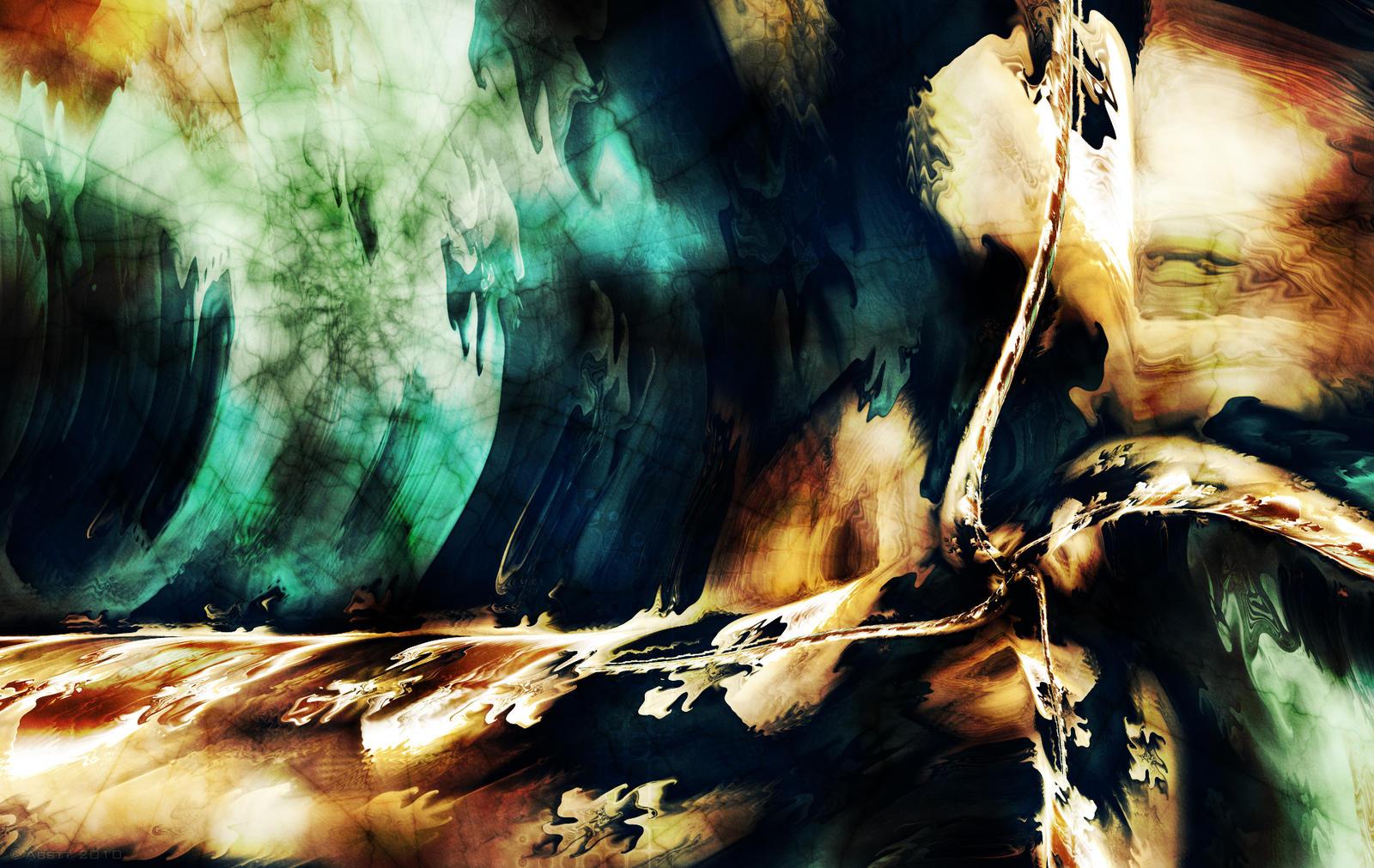 Darkness is beautiful by Abstt