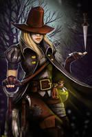 Darkest Dungeon: Grave Robber by VooDooVal