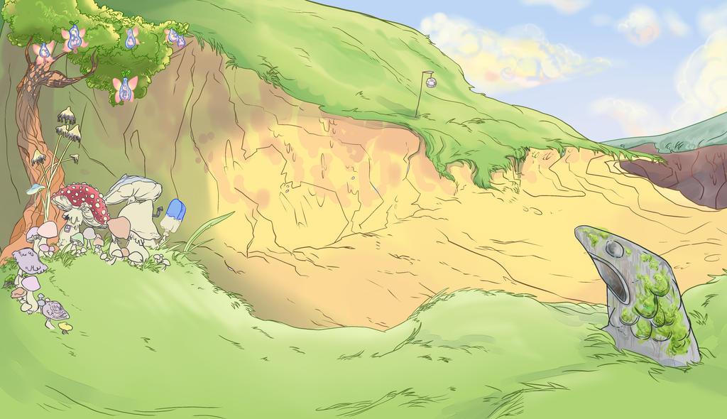 Background art 01 by BubbleDriver