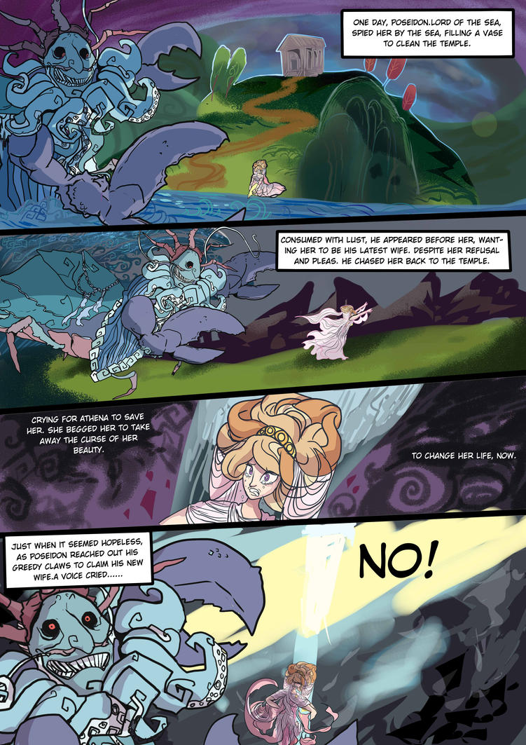 Medusa:Warrior of Justice the Graphic novel Pg 7 by BubbleDriver