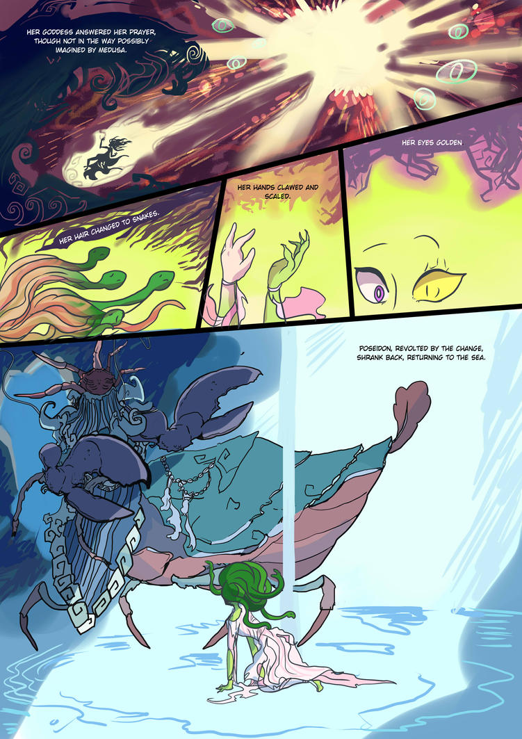 Medusa:Warrior of Justice the Graphic novel Pg 8 by BubbleDriver